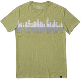 tentree Treelake T-Shirt Men Mosstone Green
